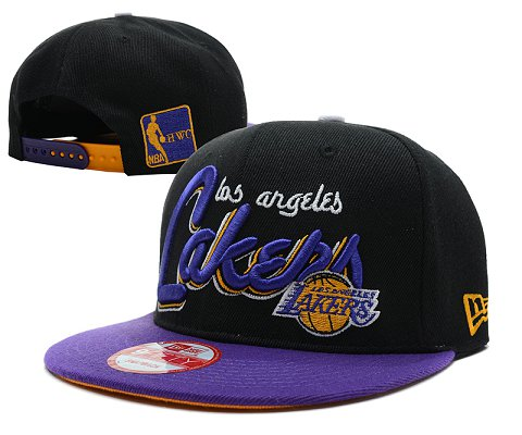 Los Angeles Lakers NBA Snapback Hat SD13